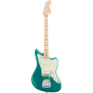 Fender American Professional Jazzmaster Electric Guitar with Maple in Mystic Seafoam