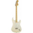 Fender American Special Stratocaster Electric Guitar with Maple Neck in Olympic White