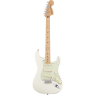 Fender Deluxe Roadhouse Stratocaster with Maple Fingerboard in Olympic White
