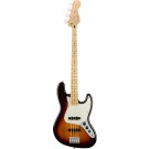 Fender Player Jazz Bass with Maple Fingerboard in 3-Colour Sunburst