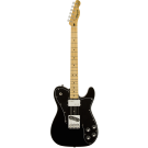 Squier Vintage Modified Telecaster Custom Electric Guitar in Black