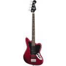 Squier Vintage Modified Jaguar SS Short Scale Bass in Candy Apple Red