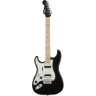 Squier − Contemporary Stratocaster HH Left-Handed, Maple Fingerboard, Black Metallic (LH)