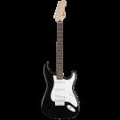 Squier − Bullet Stratocaster Hard Tail, Laurel Fingerboard, Black