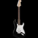 Squier − Bullet Stratocaster HSS Hard Tail, Laurel Fingerboard, Black