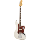 Squier Vintage Modified Bass VI with Laurel Fingerboard in Olympic White