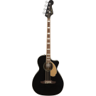 Fender Kingman Acoustic Electric Bass with Walnut Fingerboard in Black