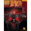 Slayer -  Slayer   (Drums) Drum Play-Along - Hal Leonard. Softcover/CD Book