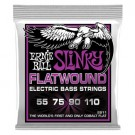 Ernie Ball 55-110 Slinky Flatwound Bass Strings