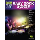 Easy Rock Songs -  Various   (Drums) Drum Play-Along - Hal Leonard. Sftcvr/Online Audio Book