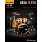 Hal Leonard Drumset Method - Book 1 -     (Drums) Hal Leonard Drumset Method - Hal Leonard. Sftcvr/Online Media Book