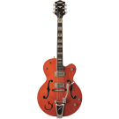 Gretsch − G6120RHH Reverend Horton Heat Signature Hollow Body with Bigsby, Ebony Fingerboard, Orange Stain, Lacquer