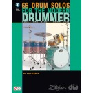 66 Drum Solos for the Modern Drummer -  Tom Hapke   (Drums)  - Cherry Lane Music. Softcover/CD Book