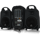 Behringer PPA500BT Ultra Compact 500 Watt 6 Channel Portable Pa System