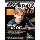 Groove Essentials 1.0 - The Play-Along -  Tommy Igoe   (Drums)  - Hudson Music. Sftcvr/Online Audio Book
