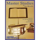 Master Studies -  Joe Morello   (Drums)  - Modern Drummer Publications. Softcover Book