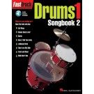 FastTrack Drums Songbook 2 - Level 1 -  Various   (Drums) FastTrack Music Instruction - Hal Leonard. Softcover/CD Book