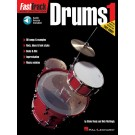 FastTrack Drums Method - Book 1 -  Blake Neely|Rick Mattingly   (Drums) FastTrack Music Instruction - Hal Leonard. Sftcvr/Online Audio Book