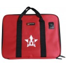 Protec Music Portfolio Bag with Shoulder Strap and Musos Corner Logo - Red