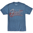 Fender Since 1954 Strat T-Shirt Blue - Medium