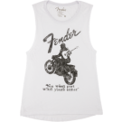 FENDER® JAGUAR® WOMEN'S SLEEVELESS T-SHIRT