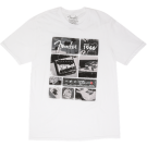 Fender Vintage Parts T-Shirt - White - L