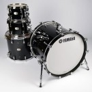 Yamaha Absolute Hybrid Maple 5pc Drum Kit + HW880 Hardware Pack - Solid Black