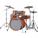 Yamaha Absolute Hybrid Maple 4pc Drum Kit - Shell Pack - Orange Sparkle