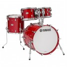 Yamaha Absolute Hybrid Maple 4pc Drum Kit - Shell Pack - Red Autumn