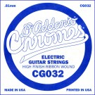 D'Addario CG032 Flat Wound Electric Guitar Single String .032