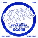 D'Addario CG048 Flat Wound Electric Guitar Single String .048