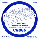 D'Addario CG065 Flat Wound Electric Guitar Single String .065