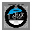D'Addario CGH-3T Pro-Arte Clear Nylon w/ Composite G Classical Guitar Half Set Hard Tension