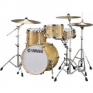 Yamaha Stage Custom Bop Drum Kit Package + Crosstown Hardware - Natural Wood