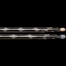 Vater Vcbk5A Los Angeles 5A Black Optic Colour Wrap Wood Tip