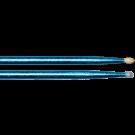 Vater Vcb5An Los Angeles 5A Blue Sparkle Colour Wrap Nylon Tip