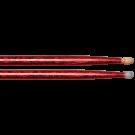 Vater Vcr5B 5B Red Sparkle Colour Wrap Wood Tip
