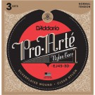 D'Addario EJ45-3D Pro-Arte Nylon Classical Guitar Strings Normal Tension 3 Sets