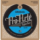 D'Addario EJ51 Pro-Arte Classical Guitar Strings with Polished Basses Hard Tension
