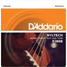 D'Addario EJ88B Nyltech Ukulele Strings Baritone