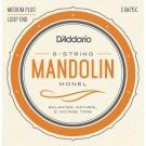 D'Addario EJM75C Monel Mandolin Strings Medium Plus 11-41