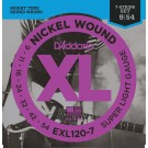 D'Addario EXL120-7 Nickel Wound 7-String Electric Guitar Strings Super Light 9-54
