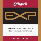 D'Addario EXP4605 Coated Classical  Guitar Single String Hard Tension Fifth String