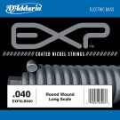 D'Addario EXPXLB040 EXP Coated Nickel Round Wound Bass Guitar Single String .040