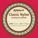 D'Addario J2701 Student Nylon Classical Guitar Single String Normal Tension First String