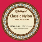D'Addario J2704  Student Nylon Classical Guitar Single String Normal Tension Fourth String
