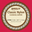 D'Addario J27H06  Student Nylon Classical Guitar Single String Hard Tension Sixth String