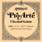 D'Addario J4301 Pro-Arte Nylon Classical Guitar Single String Light Tension First String
