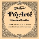 D'Addario J4404 Pro-Arte Nylon Classical Guitar Single String Extra-Hard Tension Fourth String