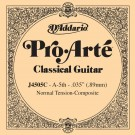 D'Addario J4505C Pro-Arte Composite Classical Guitar Single String Normal Tension Fifth String